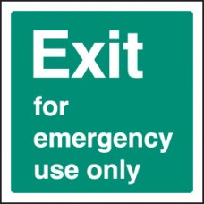 Exit Emergency use