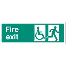 Disabled Final Fire Exit