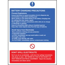 Battery Charging Precautions