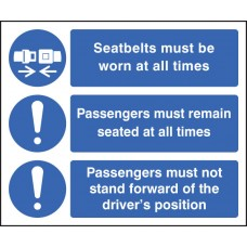 Wearing of Seatbelts with Symbols