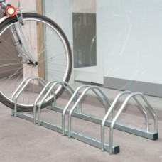 Bicycle Rack for 4 (HxWxD): 255 x 1025 x 330mm