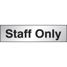 Deluxe Engraved Brass / Aluminium Effect - Staff Only