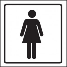 Ladies Symbol - Visual Impact Sign
