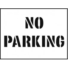 Stencil Kit - No Parking