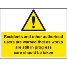 Residents and Other users Are Warned Etc