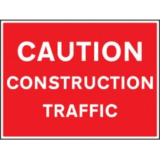 Caution Construction Traffic