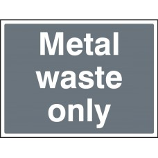 Metal Waste Only