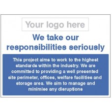 Well Maintained Site - We take our responsibilities seriously